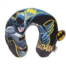 U-neck Travel Cushion 32cm Kids Batman Printed Cushion - Round Neck Pillow Soft -  batman round neck pillow soft sleep support flights car travel