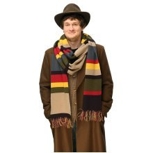 Official BBC 4th Doctor Who Tom Baker Scarf - 12 Foot Long!