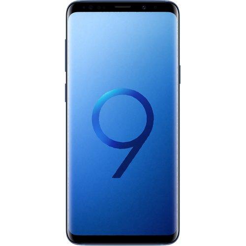 (Unlocked, 128GB) Samsung Galaxy S9+ Hybrid Sim - Coral Blue