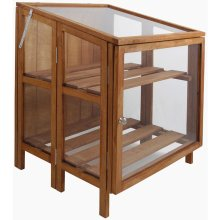 Esschert Design Greenhouse Hardwood Small GT32