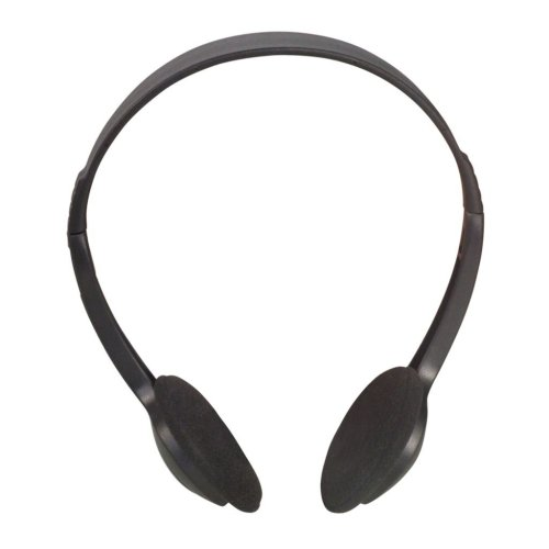 Lightweight Stereo Computer/TV Headphones  - Lead Length 5m