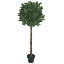 Artificial Topiary Bay Laurel Tree Ball Twisted Stem