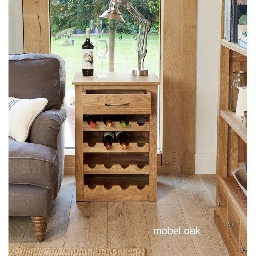 Contempo Oak Wine Rack