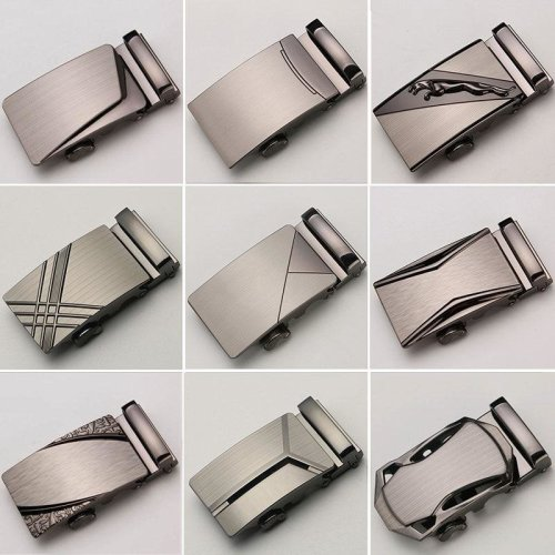 30 Style Automatic Buckle Heads For Automatic Belts Mens Leather Belt Straps Men Jeans Belt Genuine Leather Buckle Cinto