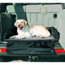 Trixie Car Bed, 95 × 75 Cm, Black/ Grey - Bedcm Black -  car bed trixie 95 75 cm black grey