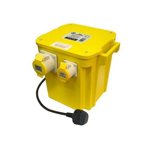 Faithfull FPPTRAN5 5 KVA Triple Outlet Transformer