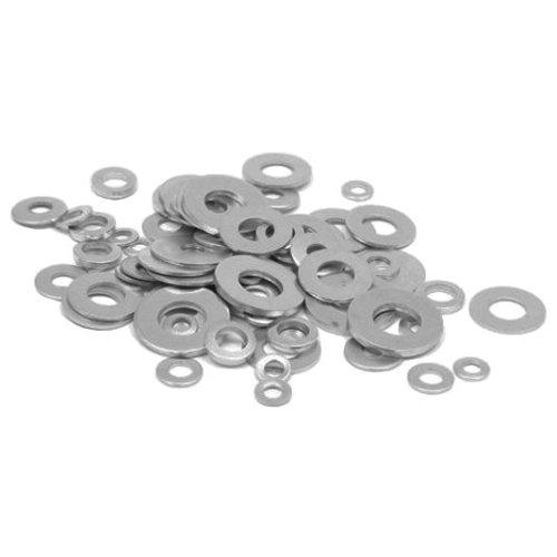 M4-M14 Round Washer Metal Screw Zinc Plated Steel Gasket Ultra-Thin