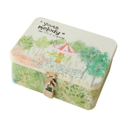 Cute Safe Lock Box Desktop Cosmetics Box-S/Trojan Horse