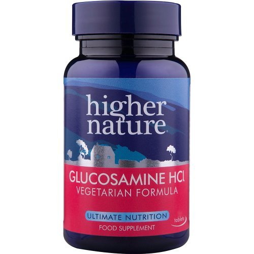 Higher Nature  Vegetarian Glucosamine Hydochloride 180s