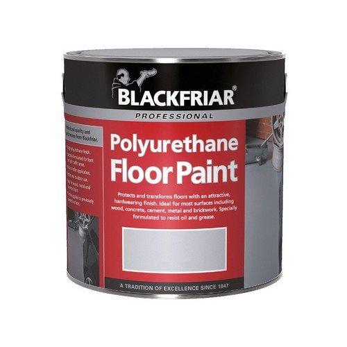Blackfriar BF2000001F1 Professional Polyurethane Floor Paint Tile Red 250ml