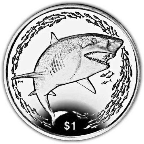 British Virgin Islands 2016 Lemon Shark Unc. CuNi Coin