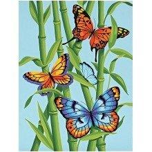 Dpw91258 - Paintsworks Learn to Paint - Butterflies & Bamboo