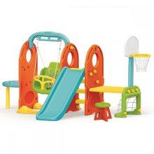 Dolu 7 in 1 Garden Kids Indoor Outdoor Swing Slide Playground Set 2 Years +