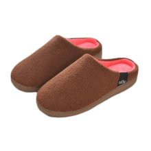Warm & Cozy  Indoor Plush House Slipper For Men, Brown