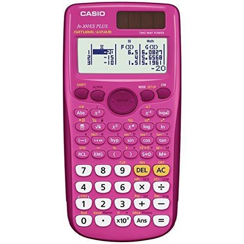 Casio fx 300ES PLUS Scientific Calculator Pink