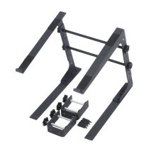 Adjustable Desk Top Laptop Stand with Additional Fixing Clamps