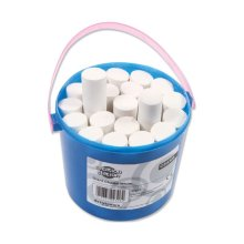 Playground Chunky Tub of 20 White Super Bright Chalks