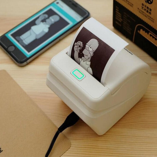 Mobile Phone Wireless Remote Printing Photo WiFi Thermal Paper Printer