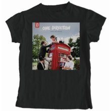 Large Black Women's One Direction Take Me Home T Shirt