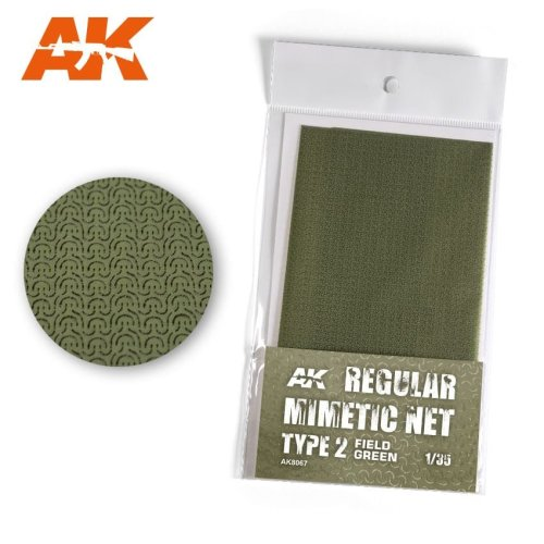 AK8067 - AK Interactive - Camouflage Net Type 2 Field Green