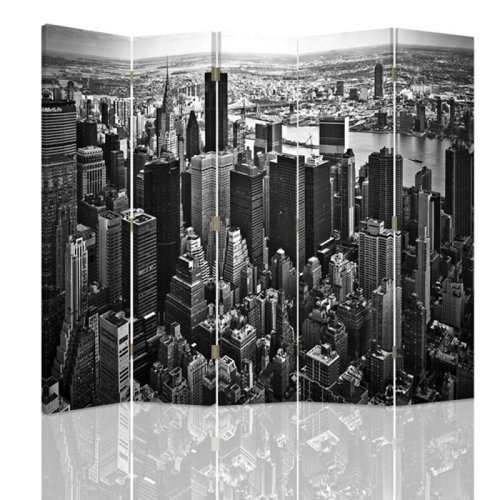 NYC Skyline Screen/Room Divider