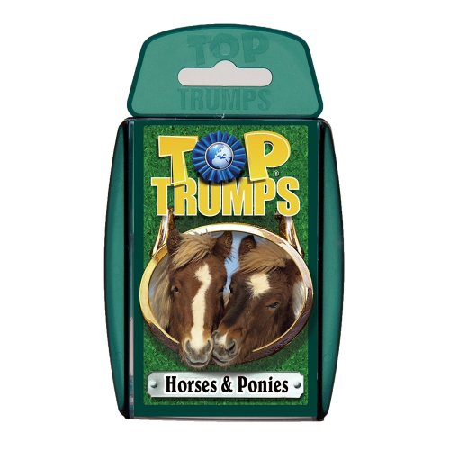 Horses and Ponies Top Trumps Card Game New Sealed