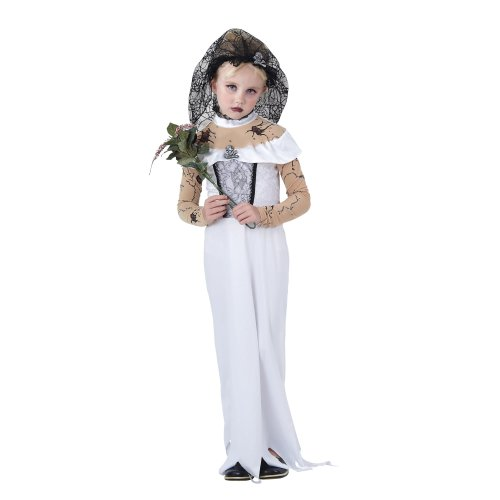 Kids Zombie Bride Costume | Halloween