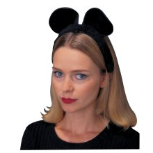 Brown Children's Mouse Ears -  ears black catmouse costume accessory