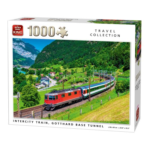 TRAVEL COLLECTION 1000 PCS TRAIN TUNNEL PUZZLE