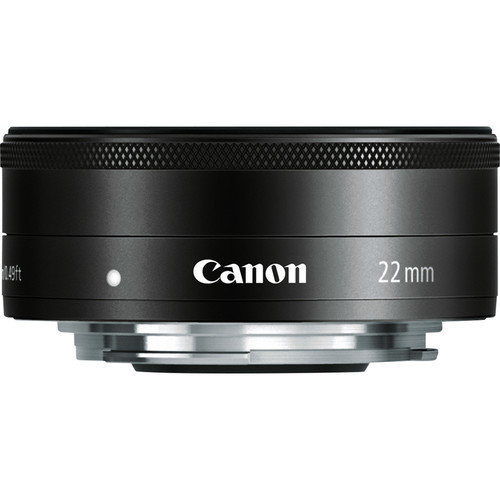 CANON EF-M 22mm F2 STM Black