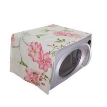 Pastoral Floral Print Microwave Oven Dustproof Cover Dust Cover Flowers