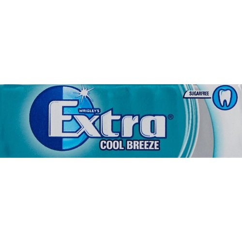 Wrigley's Extra Cool Breeze Sugarfree Chewing Gum 10 Pieces x 30