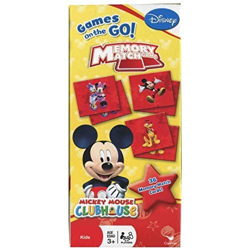 Disney Mickey Mouse Clubhouse Memory Match Game