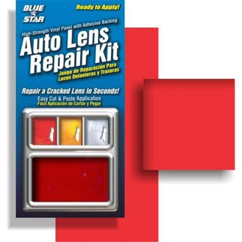 Blue Star 882 Auto Lens Repair Kit, Red Smooth