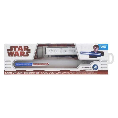 Star Wars Light-Up Lightsaber for Wii -