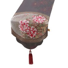 Chinese Style Elegant Table Runner Tablecloth Bed Flag Bed Runner, NO.1