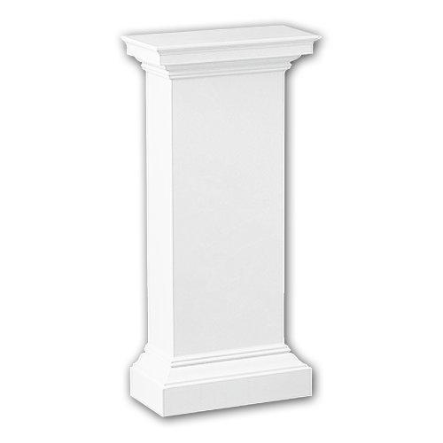 Profhome118002 Half column pedestal Column Deco  element