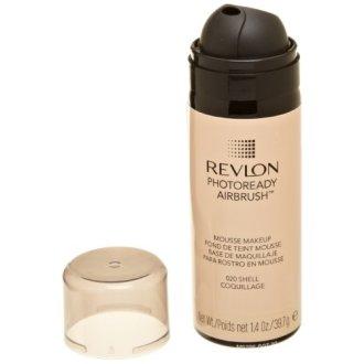 Revlon Photoready Airbrush Mousse Makeup, Shell, 1.4 Ounce