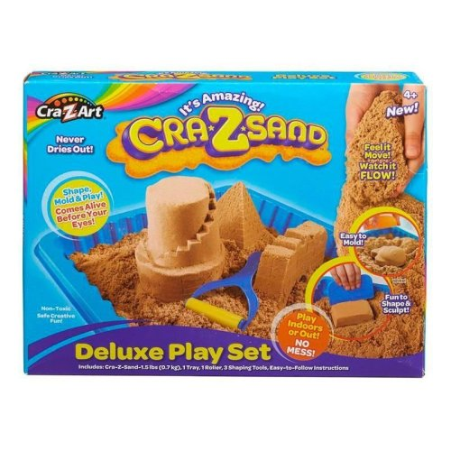 Cra-z-art Crazsand Deluxe Play Set - Brown Sand