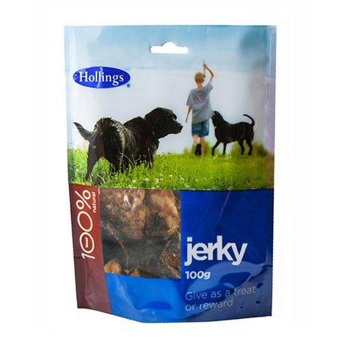 Hollings  Jerky For Dogs 100g x 8