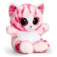Keel Animotsu Pink Cat Soft Toy 15cm