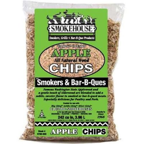 Smokehouse Products 9770-000-0000 Hickory Apple Flavored Chips&#44
