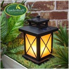 Flickering LED Warm White Lantern Garden Battery Operated Light