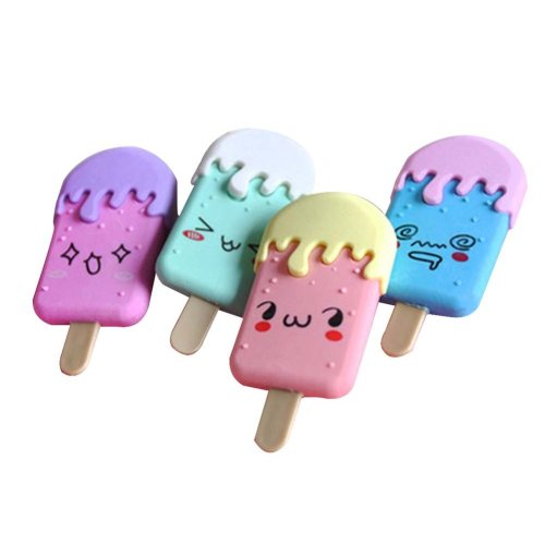 4 Pcs Creative Eraser Cute Eraser Office Stationery Small Prizes