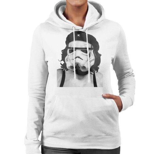 Original Stormtrooper Revolutionary Parody Women's Hooded Sweatshirt