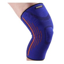 Premium Knee Support Sleeves Brace Pads for Sports Running (Pair) - Blue