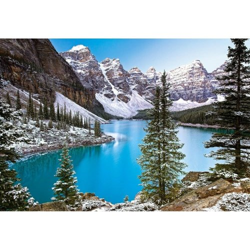 Csc102372 - Castorland Jigsaw 1000 Pc - Jewel of the Rockies, Canada