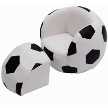 Homcom Kids' Football Seat Set