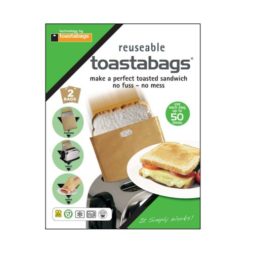 2pc Reusable Toastabags® | Sandwich Toaster Bags