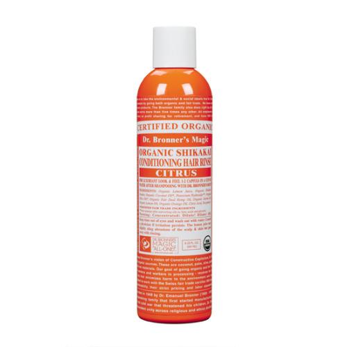 Dr Bronner Citrus Orange Hair Conditioner Rinse 236ml